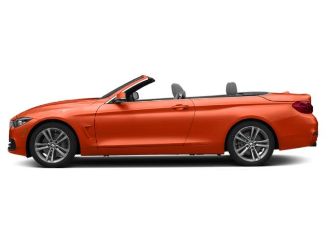 Sunset Orange Metallic 2019 BMW 4 Series Pictures 4 Series 440i Convertible photos side view