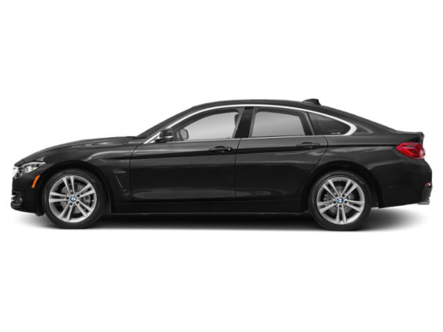 Jet Black 2019 BMW 4 Series Pictures 4 Series 430i Gran Coupe photos side view