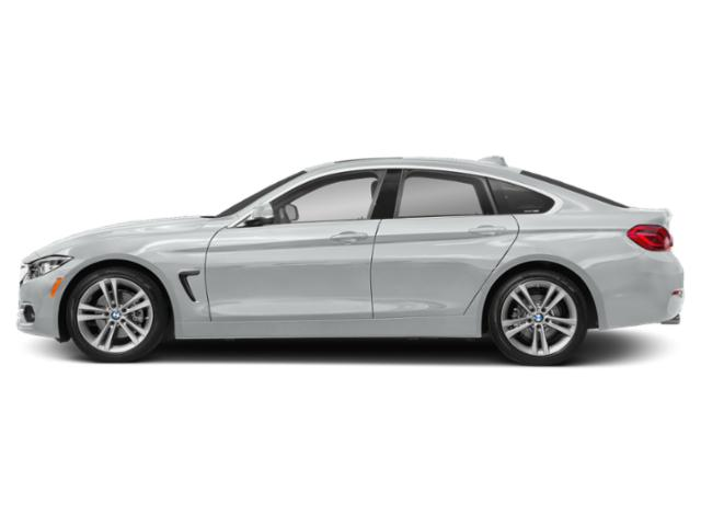 Glacier Silver Metallic 2019 BMW 4 Series Pictures 4 Series 430i Gran Coupe photos side view
