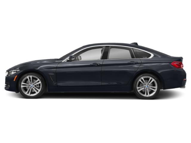 Imperial Blue Metallic 2019 BMW 4 Series Pictures 4 Series 430i Gran Coupe photos side view