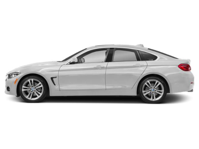 Mineral White Metallic 2019 BMW 4 Series Pictures 4 Series 430i Gran Coupe photos side view