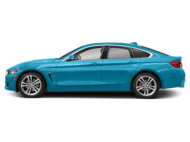 Snapper Rocks Blue Metallic 2019 BMW 4 Series Pictures 4 Series 430i Gran Coupe photos side view