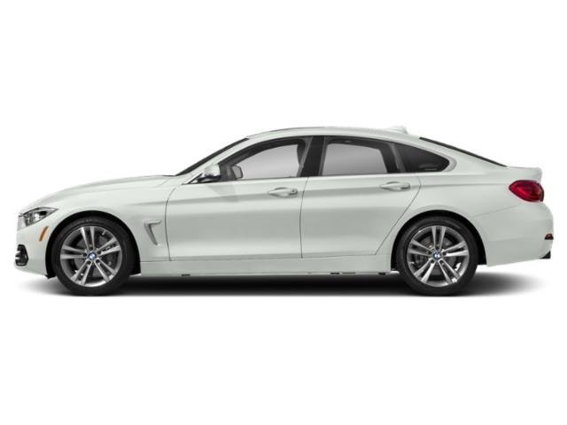 Alpine White 2019 BMW 4 Series Pictures 4 Series 440i xDrive Gran Coupe photos side view
