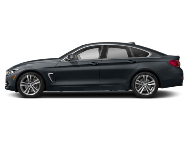 Carbon Black Metallic 2019 BMW 4 Series Pictures 4 Series 440i xDrive Gran Coupe photos side view