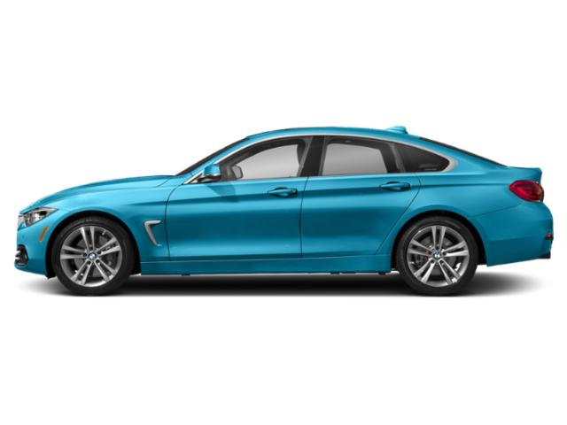 Snapper Rocks Blue Metallic 2019 BMW 4 Series Pictures 4 Series 440i xDrive Gran Coupe photos side view