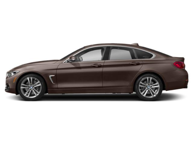 Frozen Bronze Metallic 2019 BMW 4 Series Pictures 4 Series 440i xDrive Gran Coupe photos side view