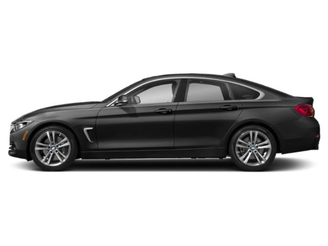 Jet Black 2019 BMW 4 Series Pictures 4 Series 440i xDrive Gran Coupe photos side view