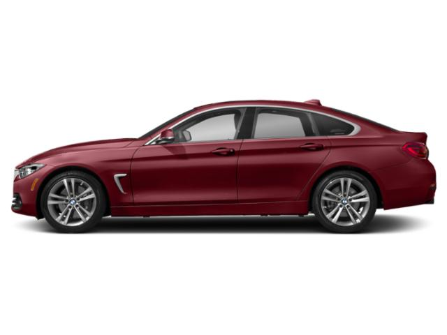 Melbourne Red Metallic 2019 BMW 4 Series Pictures 4 Series 440i xDrive Gran Coupe photos side view
