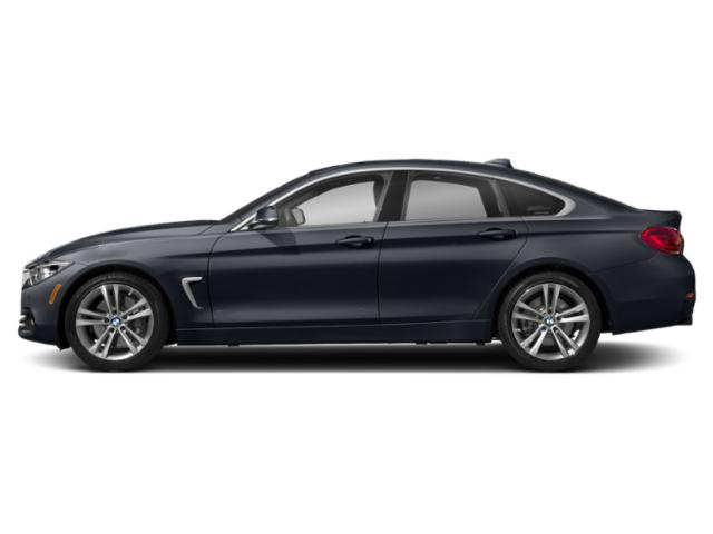 Imperial Blue Metallic 2019 BMW 4 Series Pictures 4 Series 440i xDrive Gran Coupe photos side view