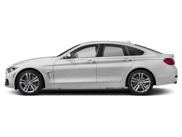 Mineral White Metallic 2019 BMW 4 Series Pictures 4 Series 440i xDrive Gran Coupe photos side view