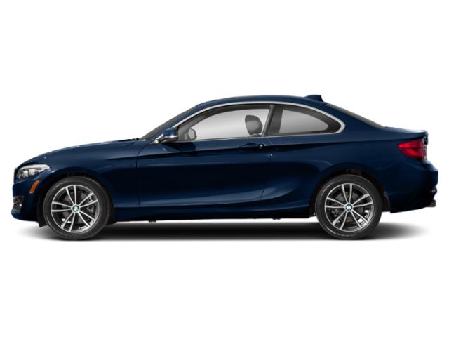 Mediterranean Blue Metallic 2019 BMW 2 Series Pictures 2 Series 230i Coupe photos side view