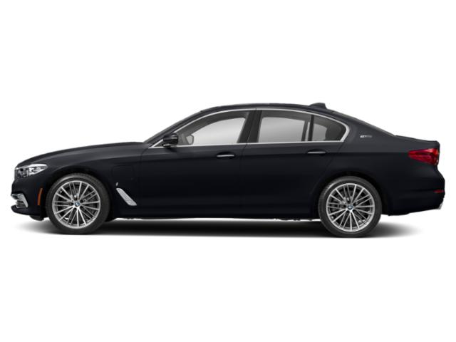 Azurite Black Metallic 2019 BMW 5 Series Pictures 5 Series 530e xDrive iPerformance Plug-In Hybrid photos side view