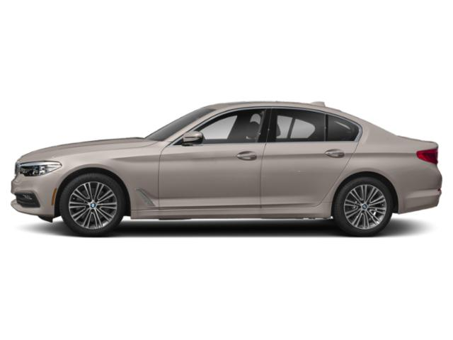 Cashmere Silver Metallic 2019 BMW 5 Series Pictures 5 Series 540d xDrive Sedan *Ltd Avail* photos side view