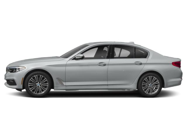 Glacier Silver Metallic 2019 BMW 5 Series Pictures 5 Series 540d xDrive Sedan *Ltd Avail* photos side view