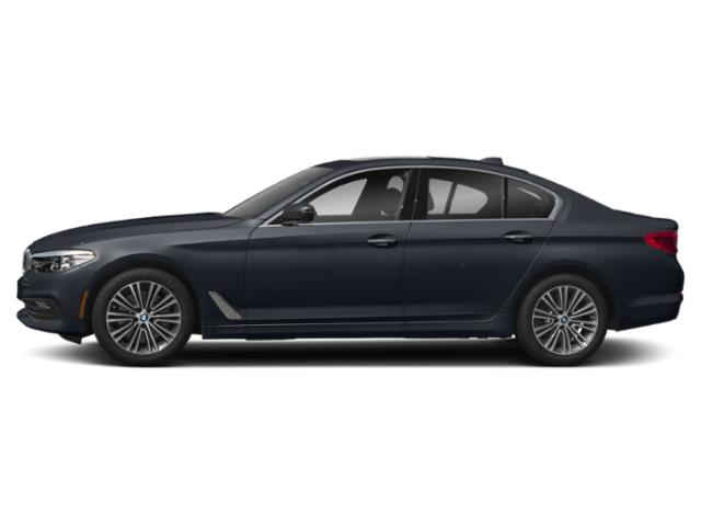 Imperial Blue Metallic 2019 BMW 5 Series Pictures 5 Series 540d xDrive Sedan *Ltd Avail* photos side view