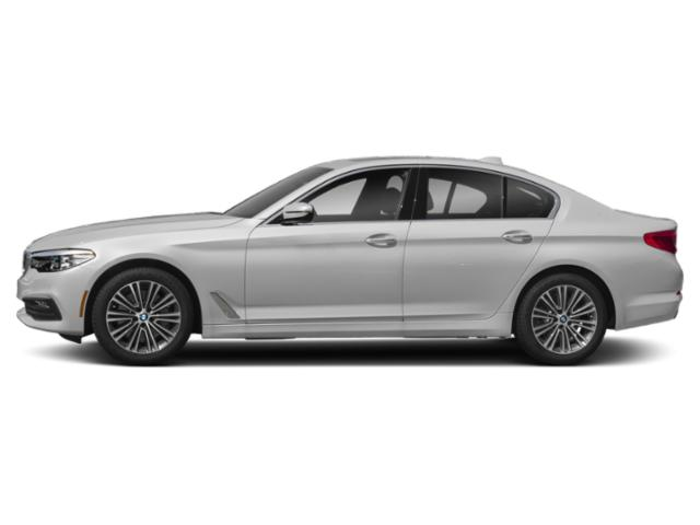 Mineral White Metallic 2019 BMW 5 Series Pictures 5 Series 540d xDrive Sedan *Ltd Avail* photos side view