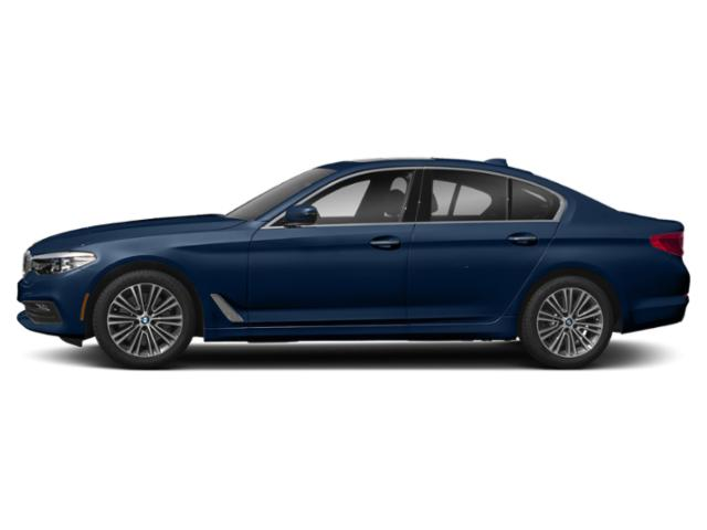 Mediterranean Blue Metallic 2019 BMW 5 Series Pictures 5 Series 540d xDrive Sedan *Ltd Avail* photos side view