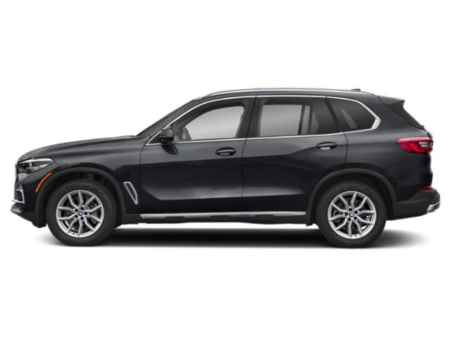 Arctic Gray Metallic 2019 BMW X5 Pictures X5 xDrive40i Sports Activity Vehicle photos side view