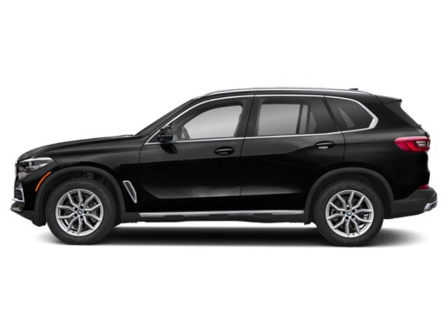 Black Sapphire Metallic 2019 BMW X5 Pictures X5 xDrive40i Sports Activity Vehicle photos side view