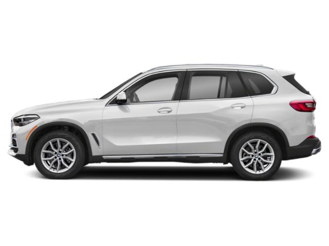 Mineral White Metallic 2019 BMW X5 Pictures X5 xDrive40i Sports Activity Vehicle photos side view