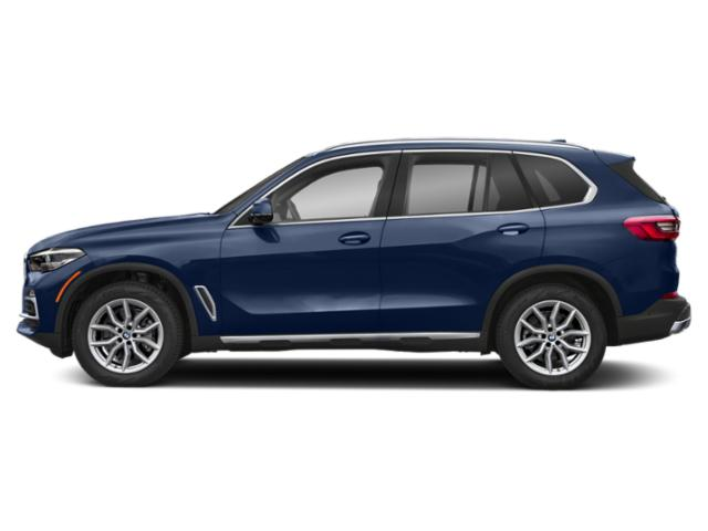 Phytonic Blue Metallic 2019 BMW X5 Pictures X5 xDrive40i Sports Activity Vehicle photos side view