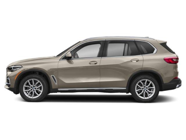 Sunstone Metallic 2019 BMW X5 Pictures X5 xDrive40i Sports Activity Vehicle photos side view