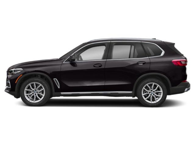 Ruby Black Metallic 2019 BMW X5 Pictures X5 xDrive40i Sports Activity Vehicle photos side view