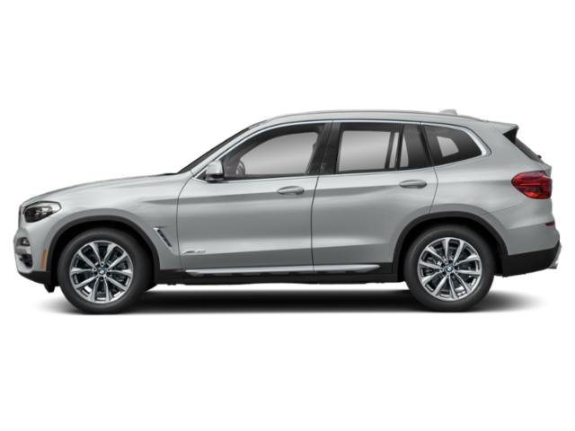 Glacier Silver Metallic 2019 BMW X3 Pictures X3 M40i Sports Activity Vehicle photos side view