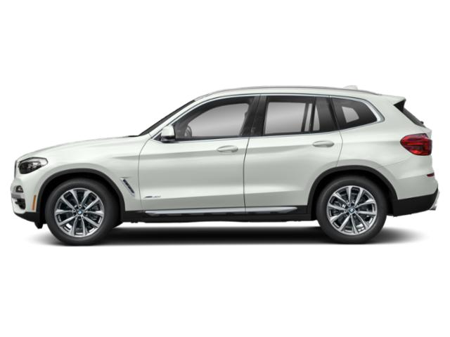 Alpine White 2019 BMW X3 Pictures X3 xDrive30i Sports Activity Vehicle photos side view