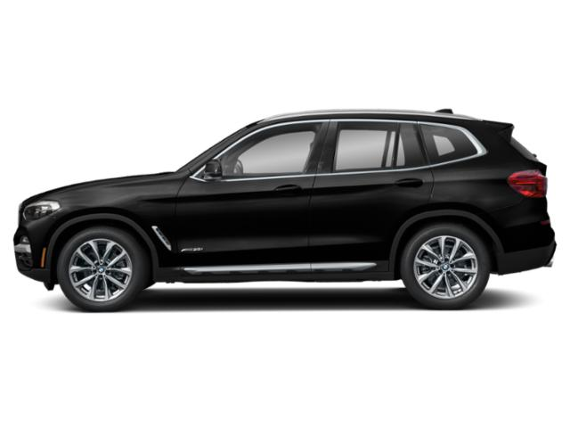 Black Sapphire Metallic 2019 BMW X3 Pictures X3 xDrive30i Sports Activity Vehicle photos side view