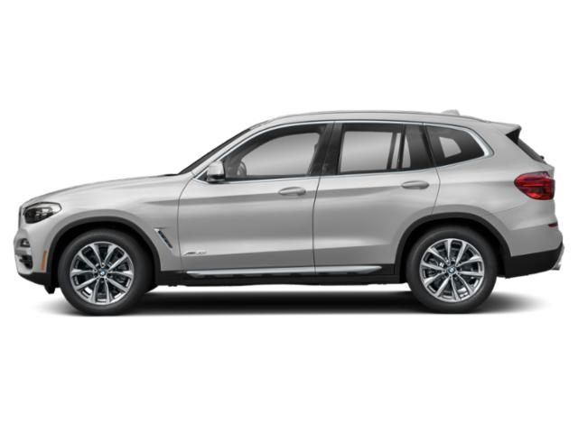 Mineral White Metallic 2019 BMW X3 Pictures X3 xDrive30i Sports Activity Vehicle photos side view
