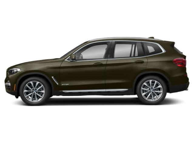 Dark Olive Metallic 2019 BMW X3 Pictures X3 xDrive30i Sports Activity Vehicle photos side view