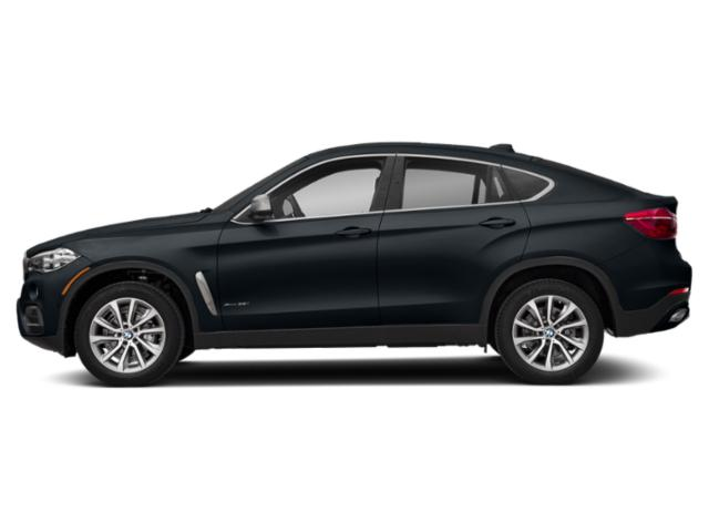 Carbon Black Metallic 2019 BMW X6 Pictures X6 xDrive35i Sports Activity Coupe photos side view