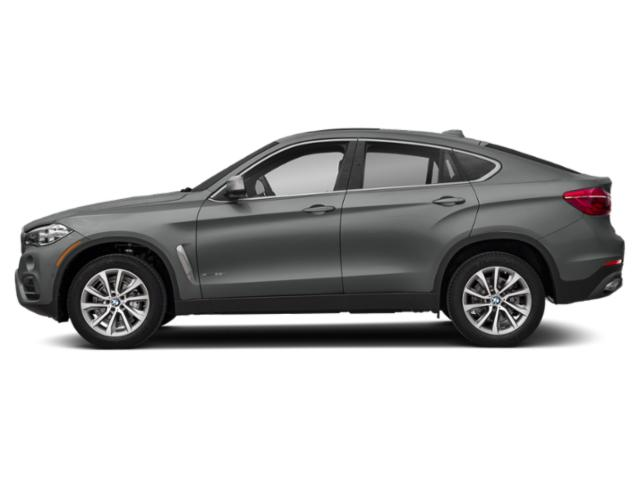 Space Gray Metallic 2019 BMW X6 Pictures X6 xDrive35i Sports Activity Coupe photos side view