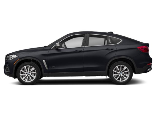 Azurite Black Metallic 2019 BMW X6 Pictures X6 xDrive35i Sports Activity Coupe photos side view