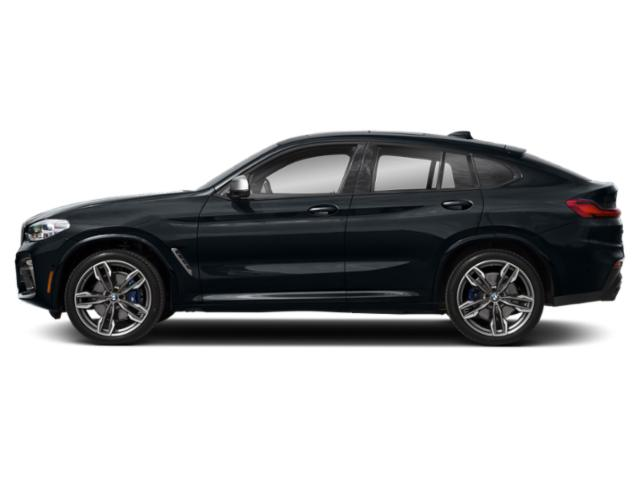 Carbon Black Metallic 2019 BMW X4 Pictures X4 M40i Sports Activity Coupe photos side view