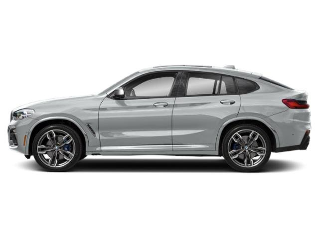 Glacier Silver Metallic 2019 BMW X4 Pictures X4 M40i Sports Activity Coupe photos side view