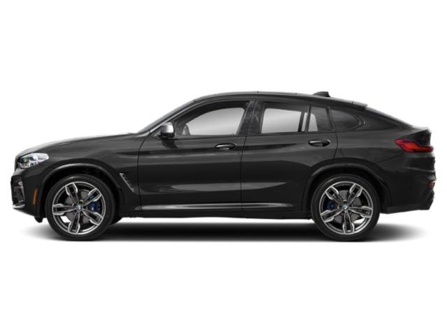 Dark Graphite Metallic 2019 BMW X4 Pictures X4 M40i Sports Activity Coupe photos side view