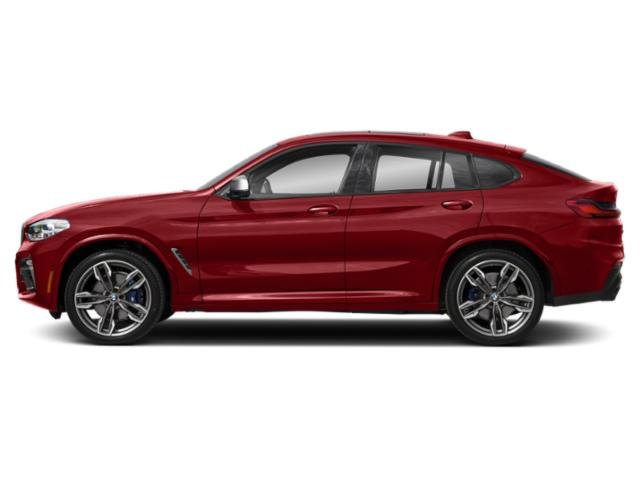 Flamenco Red Metallic 2019 BMW X4 Pictures X4 M40i Sports Activity Coupe photos side view