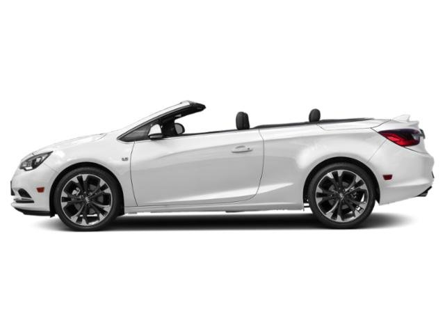 Summit White 2019 Buick Cascada Pictures Cascada 2dr Conv Sport Touring photos side view