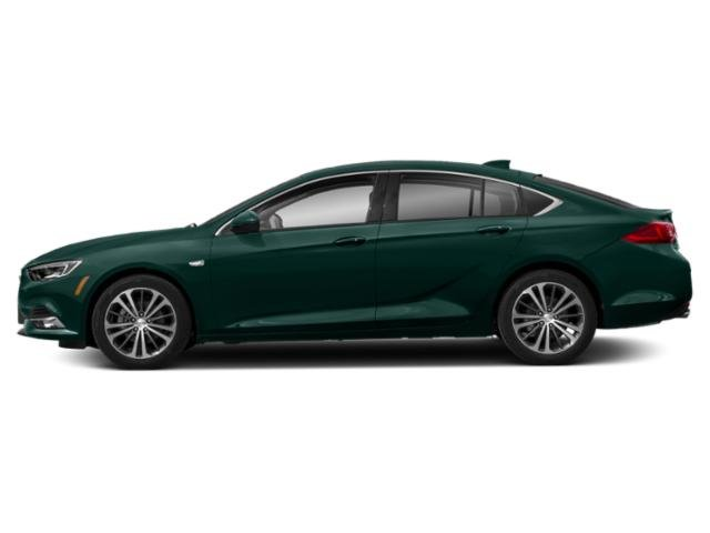 Carrageen Metallic 2019 Buick Regal Sportback Pictures Regal Sportback 4dr Sdn Essence AWD photos side view