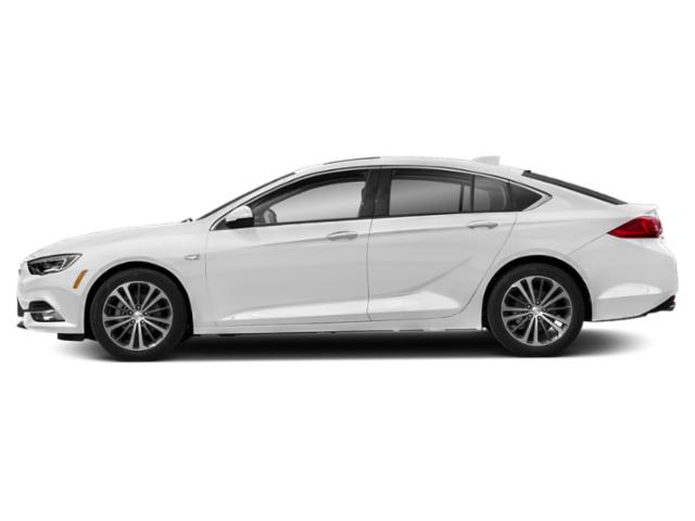 Summit White 2019 Buick Regal Sportback Pictures Regal Sportback 4dr Sdn Essence AWD photos side view