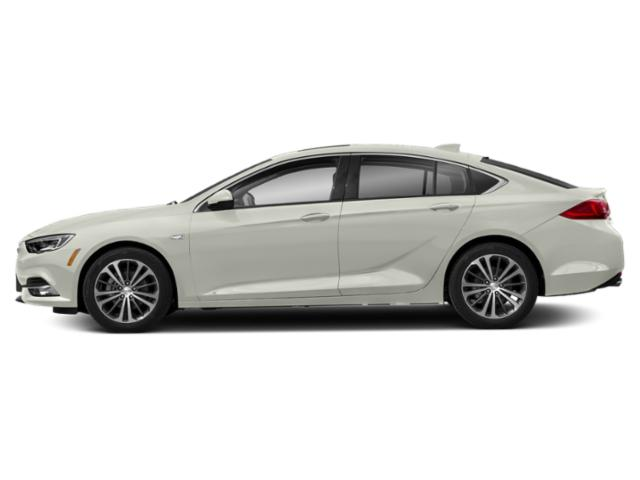 White Frost Tricoat 2019 Buick Regal Sportback Pictures Regal Sportback 4dr Sdn Essence AWD photos side view