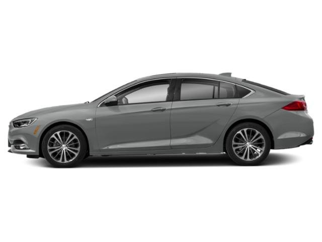 Smoked Pearl Metallic 2019 Buick Regal Sportback Pictures Regal Sportback 4dr Sdn Essence AWD photos side view