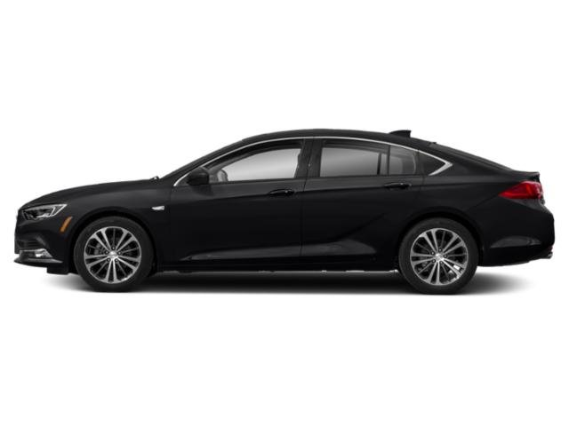 Ebony Twilight Metallic 2019 Buick Regal Sportback Pictures Regal Sportback 4dr Sdn Preferred II FWD photos side view