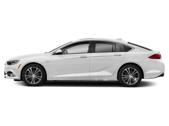 Summit White 2019 Buick Regal Sportback Pictures Regal Sportback 4dr Sdn Preferred II FWD photos side view