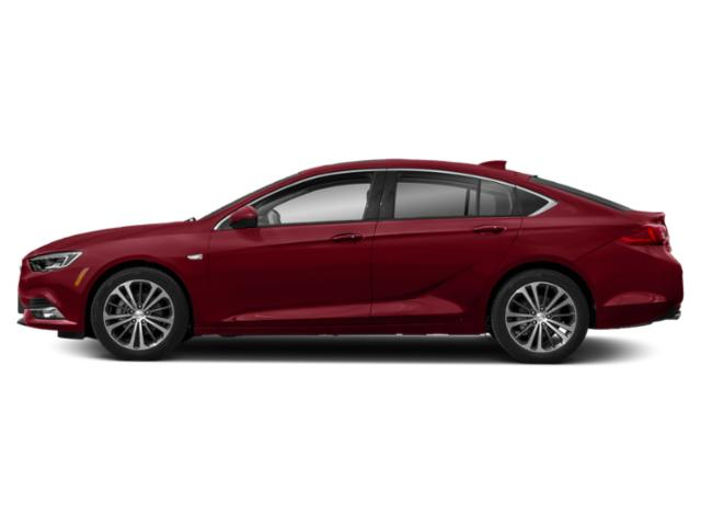 Rioja Red Metallic 2019 Buick Regal Sportback Pictures Regal Sportback 4dr Sdn Preferred II FWD photos side view