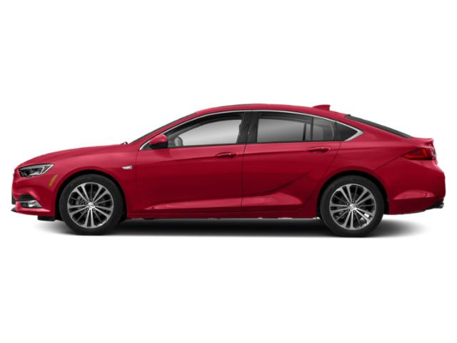 Sport Red 2019 Buick Regal Sportback Pictures Regal Sportback 4dr Sdn GS AWD photos side view
