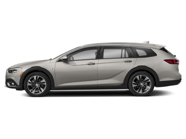 White Frost Tricoat 2019 Buick Regal TourX Pictures Regal TourX 5dr Wgn Essence AWD photos side view