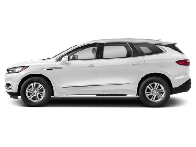 Summit White 2019 Buick Enclave Pictures Enclave AWD 4dr Essence photos side view
